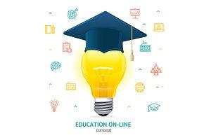 Education Concept. Vector