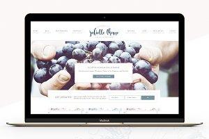 Portfolio eCommerce Genesis theme Ju
