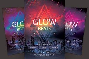 Glow Beats Flyer