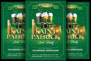 St. Patricksday Party Flyer