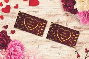 Valentine Card Mock-up #12