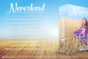 Actions for Photoshop / Neverland
