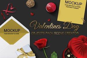 Valentines Day Scene Creator MockUp