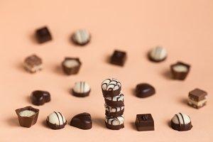 beautiful design chocolates