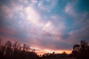 Sunrise in central Florida