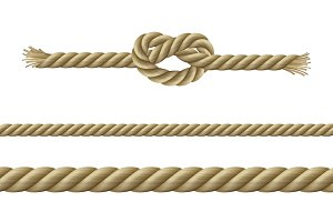 Twisted ropes nodes set
