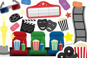 Cinema Clipart Collection