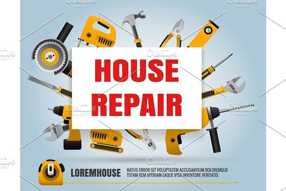 House Repair Tools Poster