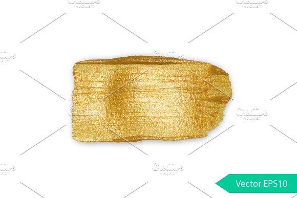 Golden acrylic 100% vector backgrond