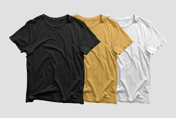Clean T-Shirt Mockup