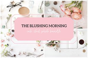THE BLUSHING MORNING. PHOTO BUNDLE.