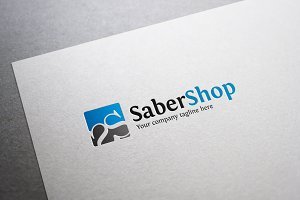 Saber Shop S Letter Logo