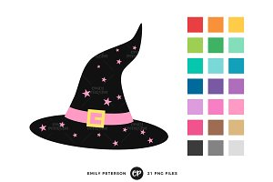 Witch Hats Clipart