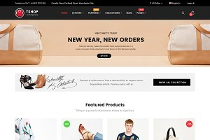 TShop - Multipurpose OpenCart Theme