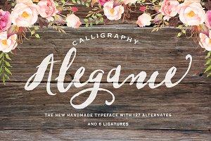Alegance Typeface