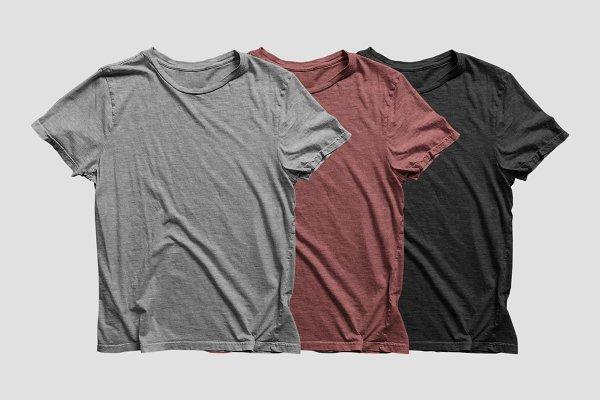 Heathered T-Shirt Mockup