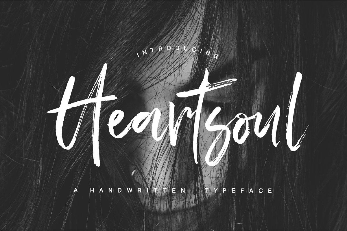 Heartsoul Font ~ Script Fonts ~ Creative Market