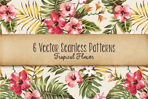 Seamless tropical patterns Vol.1