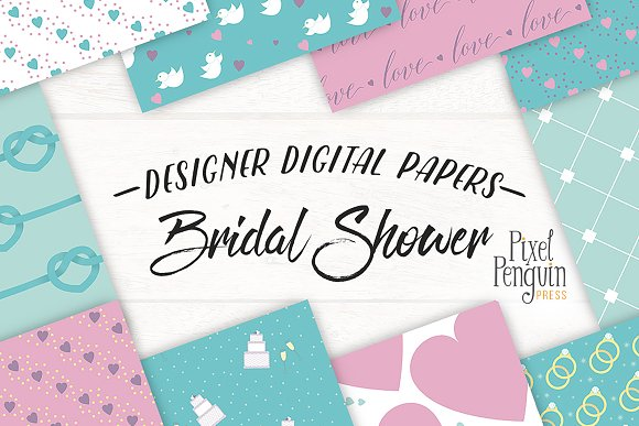 Bridal Shower Patterns