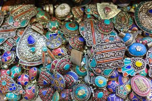 colored at the Grand Bazaar in Istanbul, Turkey