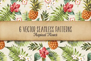 Seamless tropical patterns Vol.2