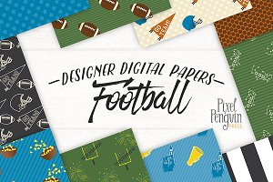 Football Party Patterns