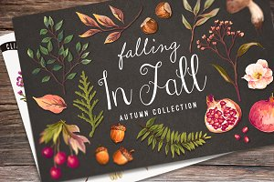 40%Off-Hand drawn autumn collection