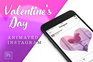 Animated Valentine's Day Insta Pack