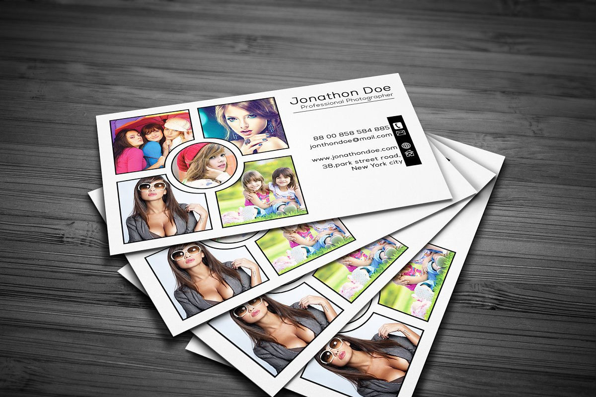 Photography Business Card in Business Card Templates - product preview 1