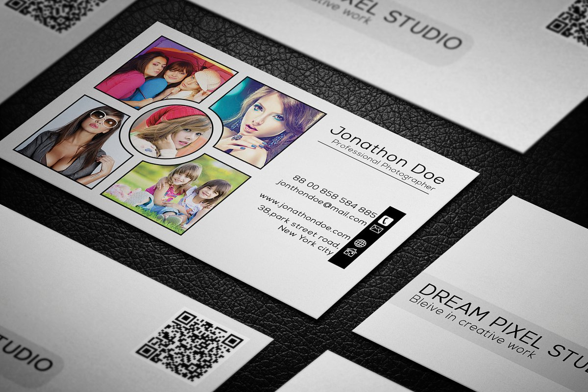 Photography Business Card in Business Card Templates