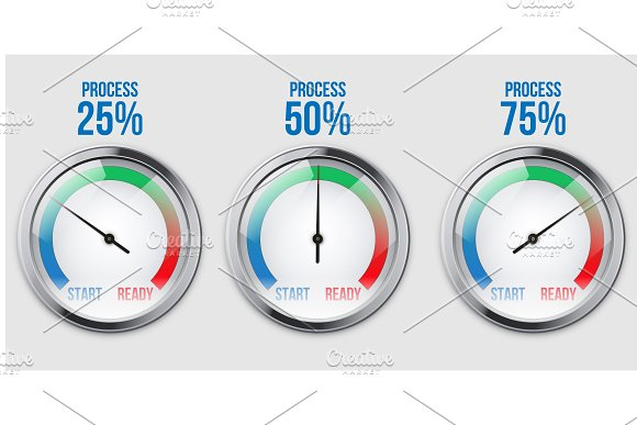 Infographic Scale Visualizing Process