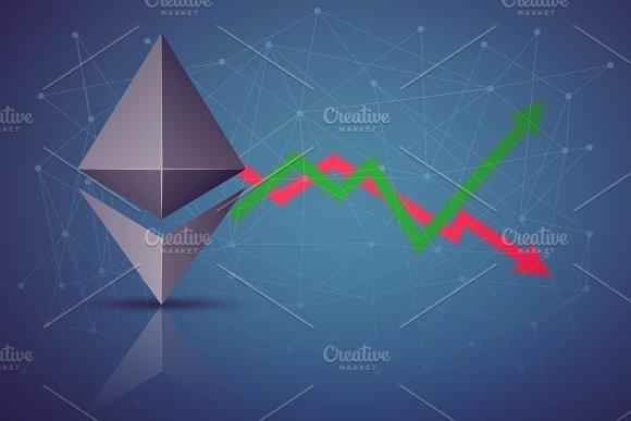 Background of Ethereum exchange trading