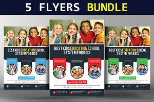 5 Multipurpose Business Flyer Bundle