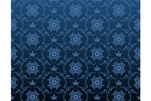 Blue royal background