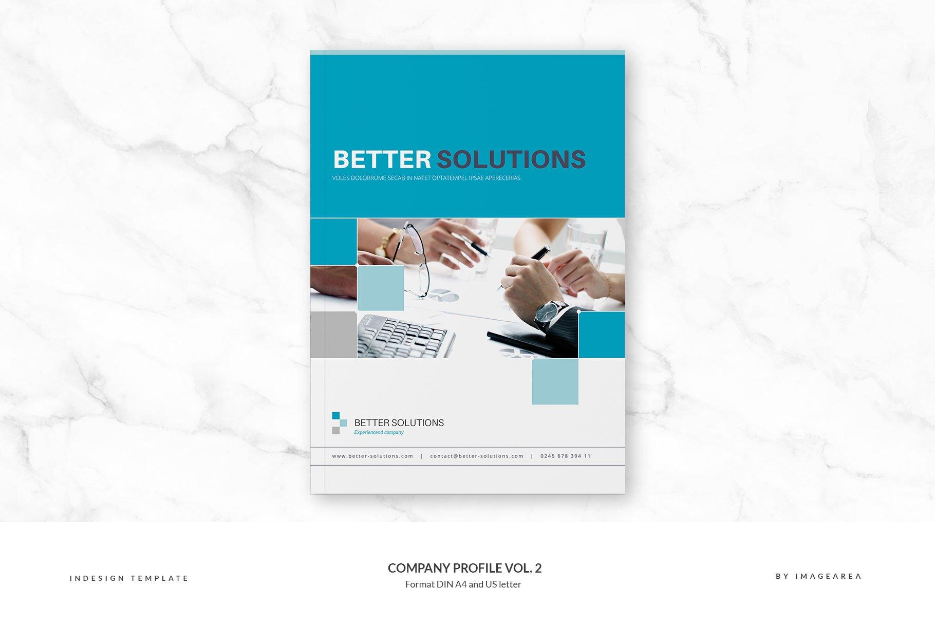 Company Profile Vol 2 Brochure Templates Creative Market Pro
