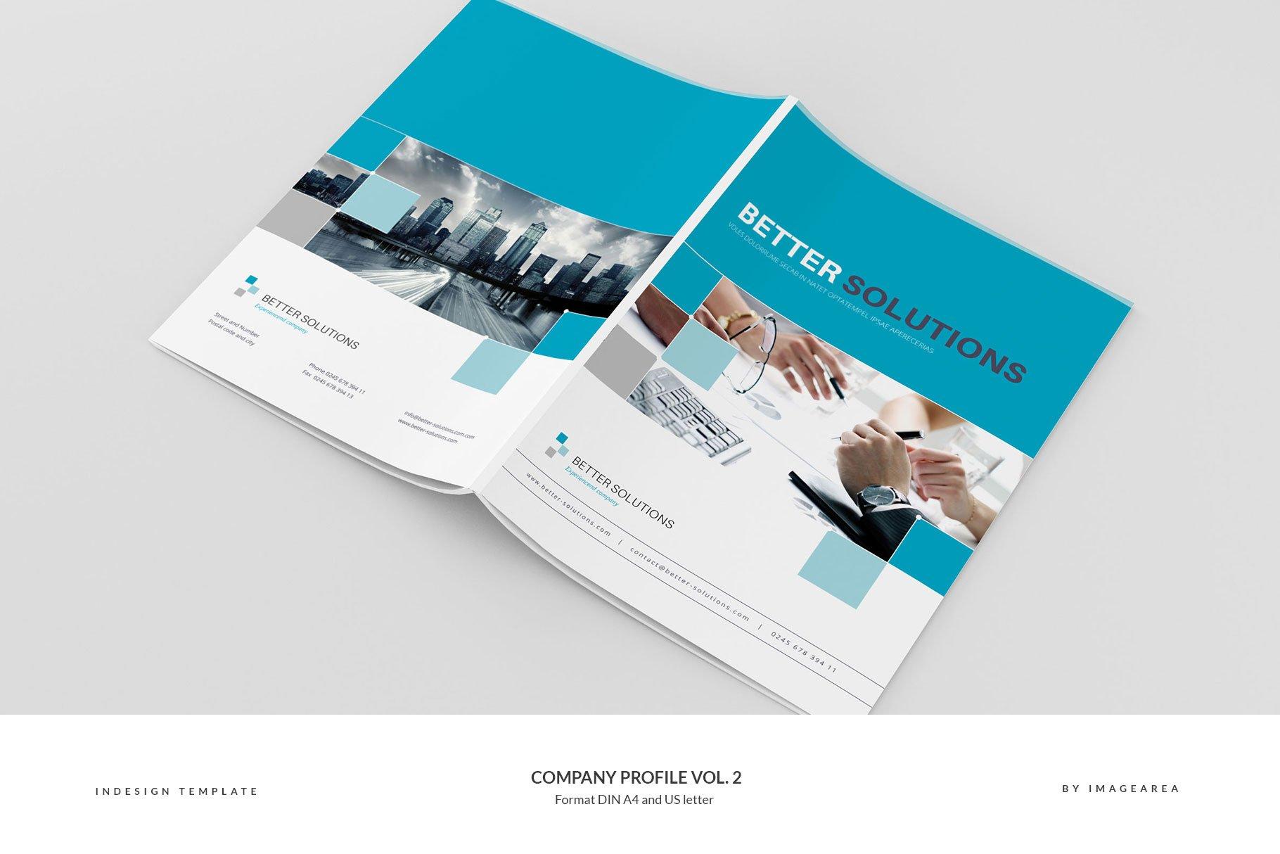 Company Profile Vol. 2 - Brochure Templates | Creative Market Pro