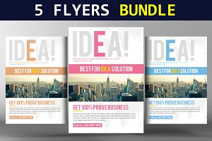 5 Best Corporate Business Flyers