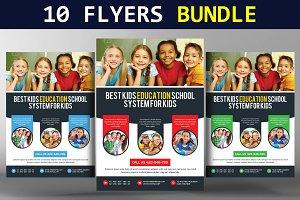 10 Multi Business Flyers Bundle