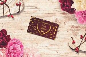 Valentine Card Mock-up #18