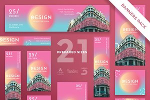 Banners Pack | Architecture Forum
