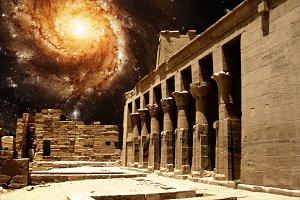 Isis Temple & Pinwheel Galaxy M101