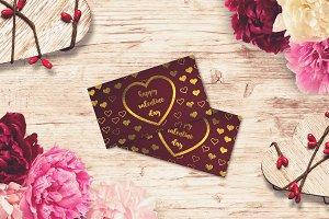Valentine Card Mock-up #19