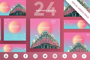 Social Media Pack|Architecture Forum