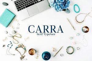 Carra Serif 3 Font Family Pack