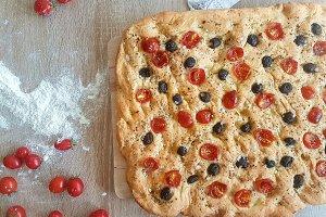 Italian Bread-Focaccia