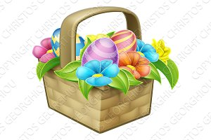 Easter Egg Hunt Basket Hamper