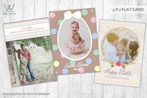 Easter Greetings Card Templates