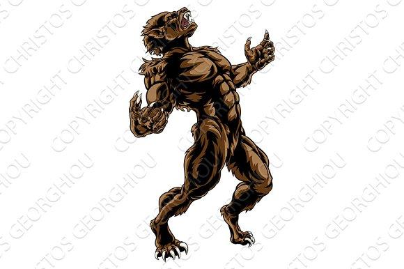 Scary Werewolf Monster