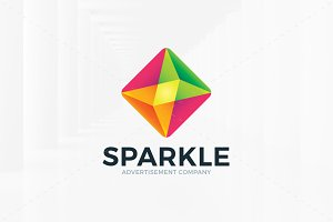 Sparkle Logo Template