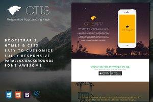 Otis - Responsive App Landing Page
